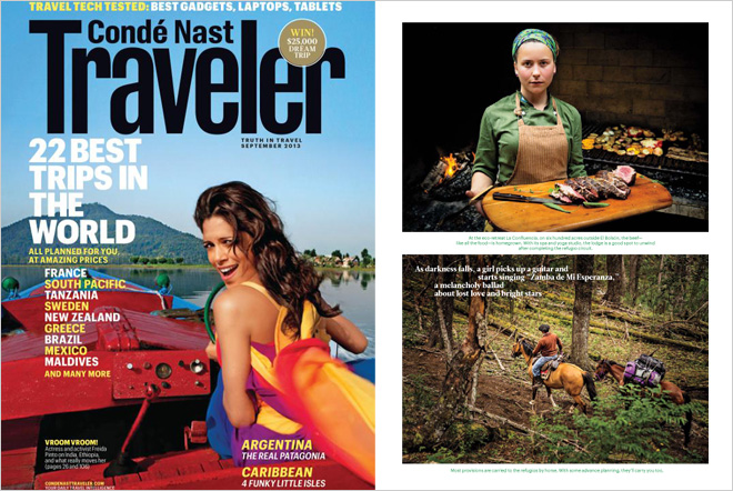 Conde Nast Traveler Sept 2013